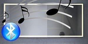 Klik hier voor een badkamer spiegel met muziek!