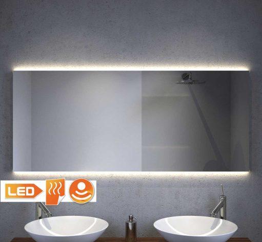 Spiegel met indirecte verlichting 160x60 cm