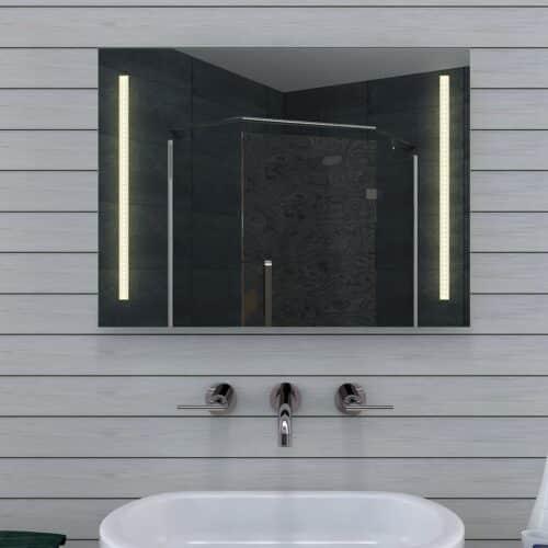 Voordelige 80 cm spiegel met instelbare lichtkleur