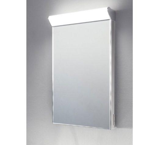 Smalle spiegel voor gebruik in toilet of badkamer