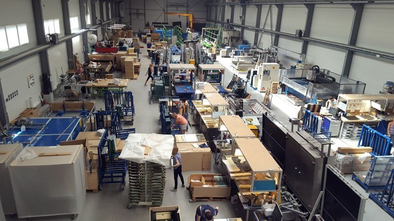 Productiehal De Spiegelfabriek