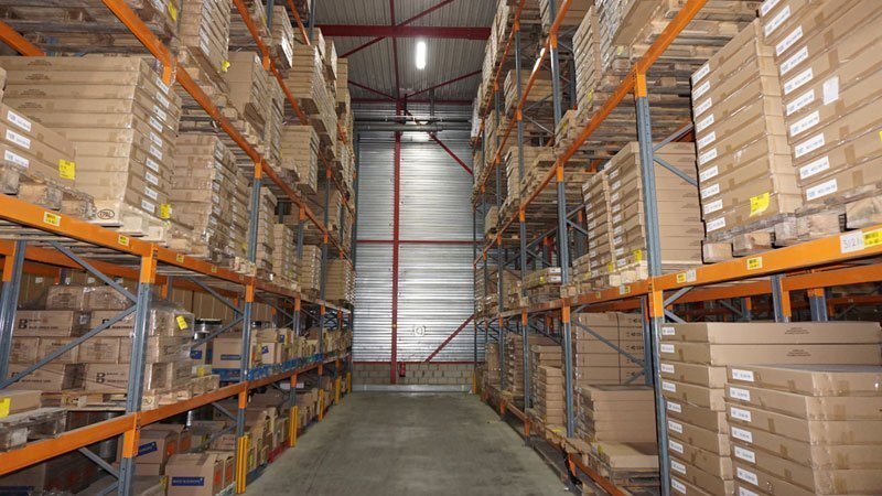 Spiegel magazijn De Spiegelfabriek