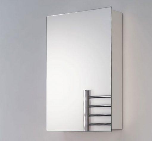 40 cm brede aluminium spiegelkast