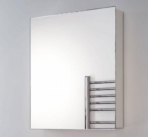 Aluminium spiegelkast, gratis uit voorraad geleverd